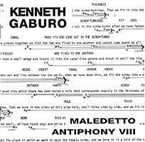 Kenneth Gaburo - Lingua II: Maledetto / Antiphony VIII